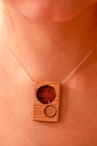 Miniture Compass Necklace