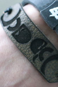 gravity brothers laser cut bracelet