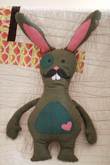Mr Bunny Stuffed Toy