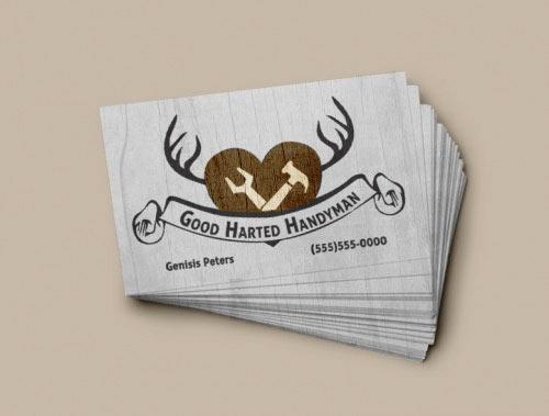 Goodharted Handyman Brand Identity